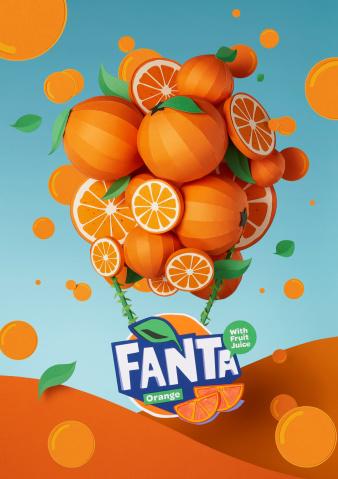 Adrian & Gidi for FantaFlavorland - rebranding campaign.