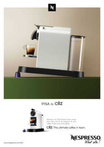 Simon Danaher for Nespresso Citiz