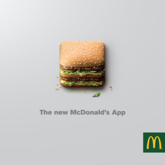 Analog/Digital & Illusion for McDonald's