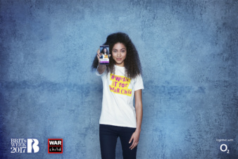 Samuel Hicks for War Child with o2