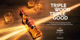 Jason Hindley for Grant's Whisky