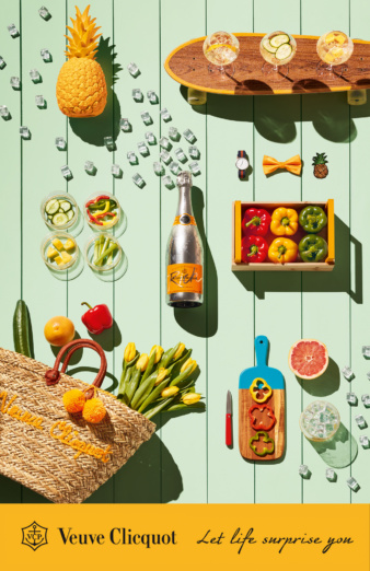 Coco Amardeil for Veuve Clicquot -