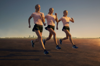 Photoby & Jan Kriwol for Adidas Running